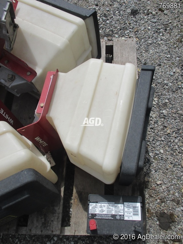 White Planter Seed Boxes Attachment